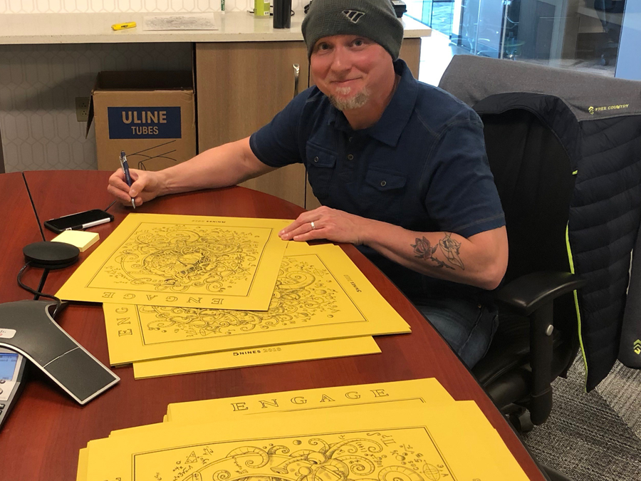 5NINES engages local artist for annual Art Poster